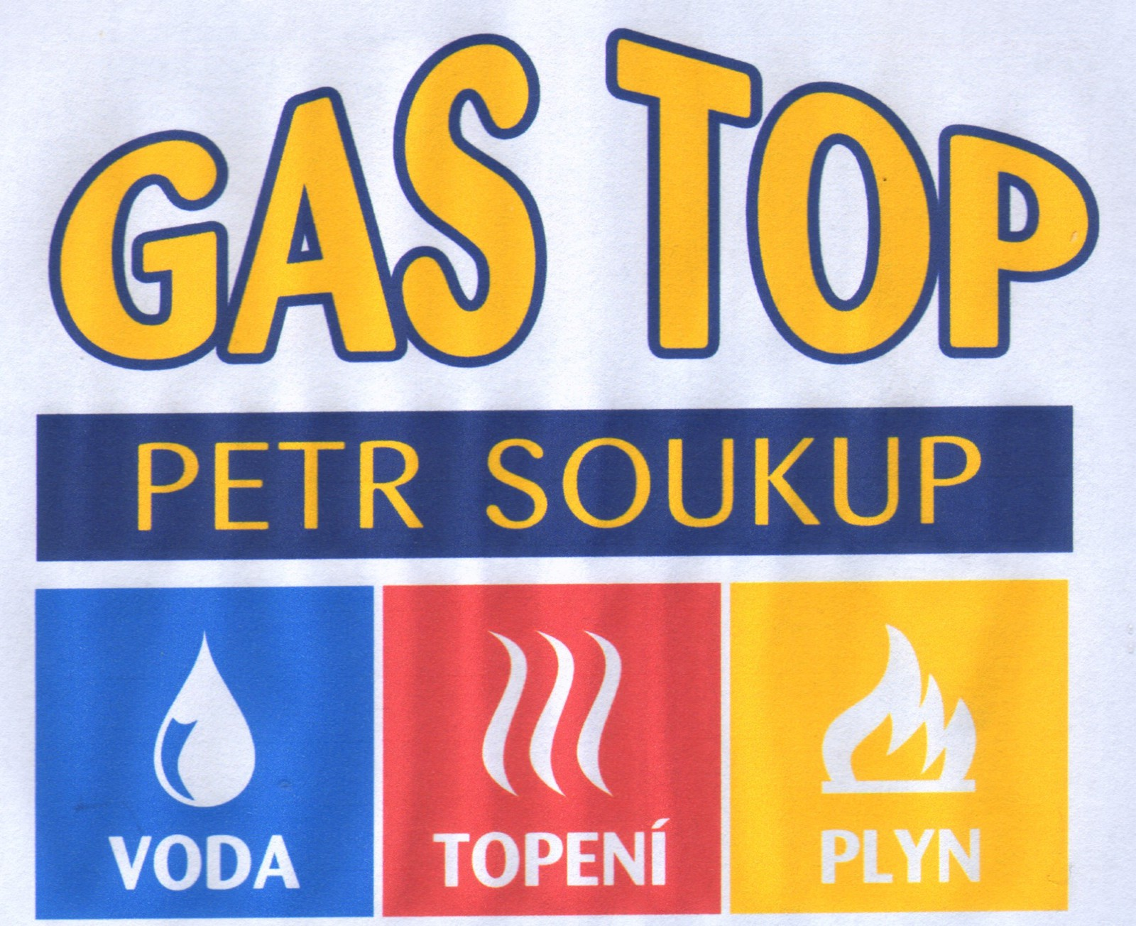 Logo gas top